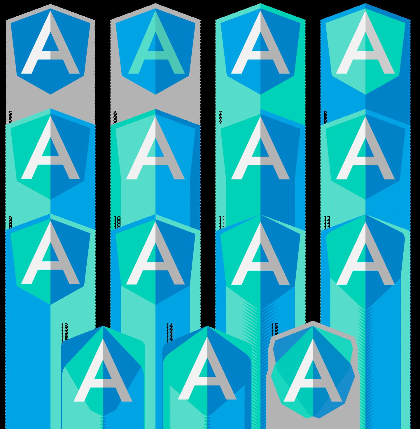 Angular Dart Logo Ideas